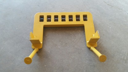 Bridge Piling Cap Roller