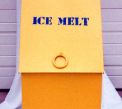Ice Melt Container