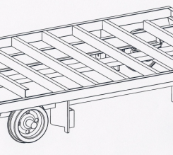 Flat Cart: Model BE-FLC 20,000