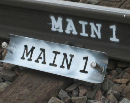 Rail Stencils