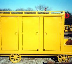 Locking Tool Cart