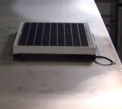 Solar Light Kit for Tool Supply Trailer