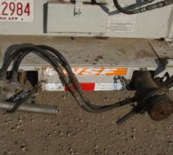 Tool Storage in rear bumper