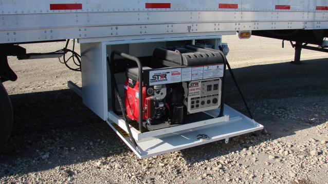 Mechanic Trailer Generator Storage 1